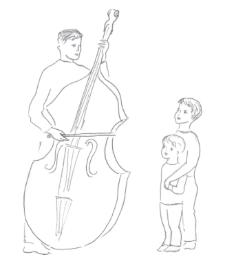 Bass Violin Illo-Father and Sons-For Web