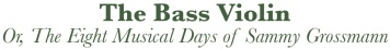 Bass Violin Title Banner-For Web